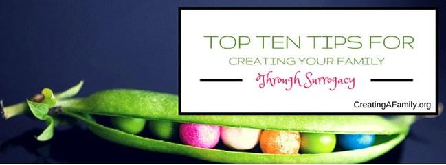 Top Ten Tips for Surrogacy