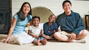 gloria huang & family
