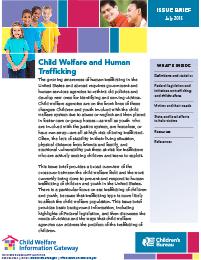 child welfare and human trafficking