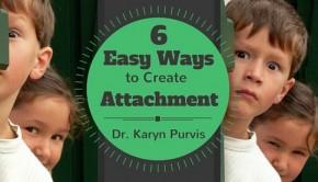 creating attachment in adoption