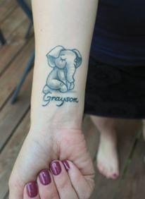 Stillbirth tattoo