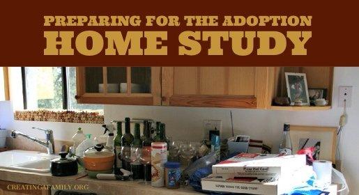 preparing for the adoption home study
