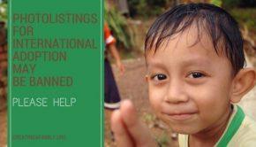 US State Department to ban international adoption photolistings
