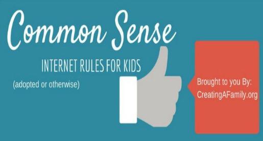 Tips for kids safe internet use