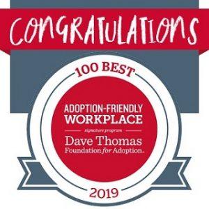 DTFA's 2019 100 Adoption-Friendly Workplaces